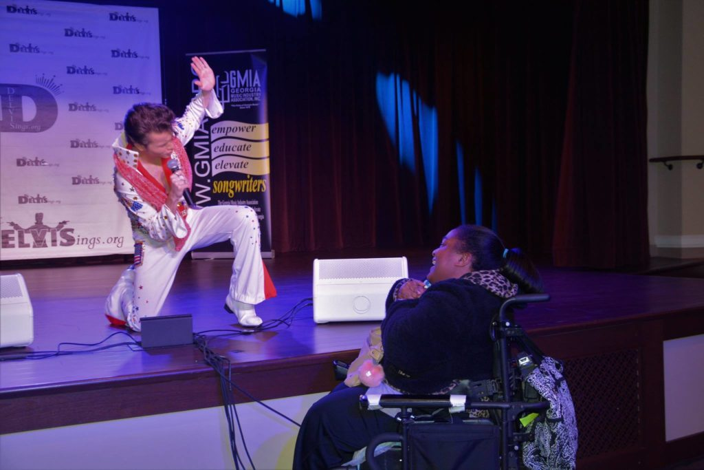 Talented performing artists with disabilities showcased at the SHOWAbility event.