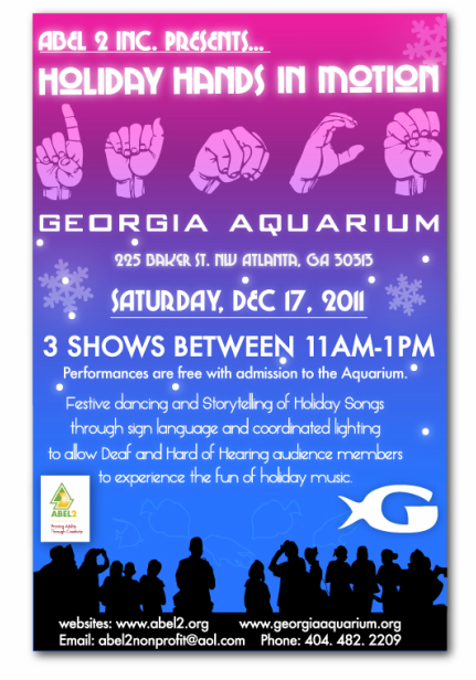 Past Event - Holiday Hands in Motion Flyer